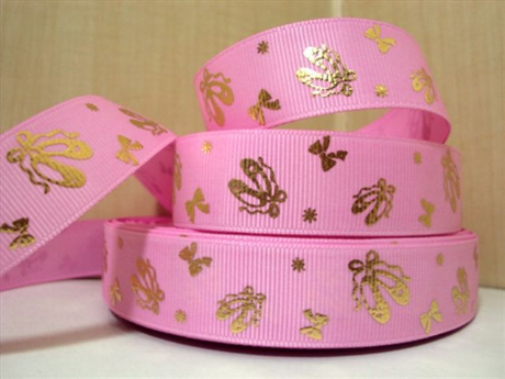 1 METRE PINK BALLET SHOE RIBBON SIZE 7/8 BOWS HEADBANDS HAIR BOWS BIRTHDAY CAKE
